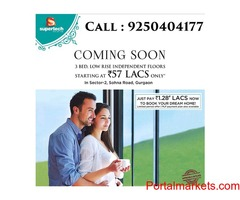 Supertech Hill Crest Low Rise Independent Floors Sector 2 Sohna