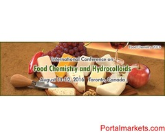 International Conference on Food Chemistry and Hydrocolloids