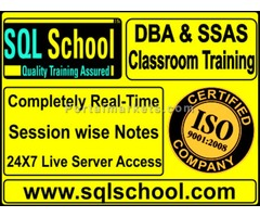 CLASSROOM TRAINING ON SQL DBA and ANALYSIS SERVICES COURSE FROM SQL SCHOOL