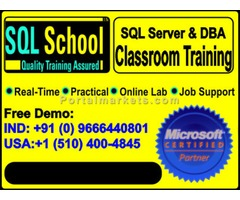 SQL Server 2012 DBA with PROJECT - CLASSROOM TRAINING