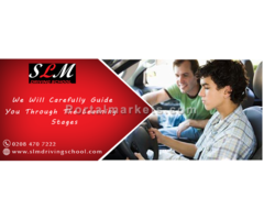 Step by step learning program towards perfect driving training.