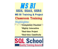 Complete Practical classroom Training on SQL Business Intelligence at www.sqlschool.com