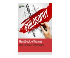 Handbook Of Names And Terms Of Philosophy