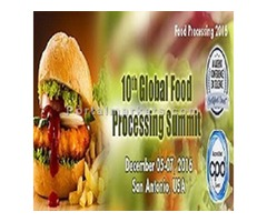 10th global food processing summit (http://foodprocessing.global-summit.com/)