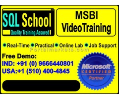 Complete Practical video Training on SQL Business Intelligence at www.sqlschool.com