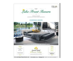 3 BHK @ 61 Lacs - Lake Front Towers South of Gurgaon | 9250404178