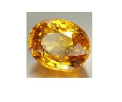 yellow sapphire gemstone only rs 3500 call-9643992242