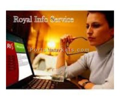 •Royal Info Service Offered