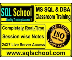 EXCELLENT PRACTICAL CLASSROOM TRAINING ON SQL Server 2012 & 2014 DBA – CLASSROOM