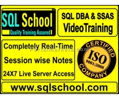 Complete Practical and Real Time Video Training on MSBI and DW @ SQL School