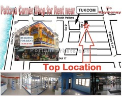 Pattaya shop for rent