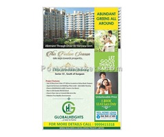 1 BHK Flat | Global Heights Sector 33 South of Gurgaon