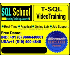 SQL Practical Video Training @ SQL School Training Institute