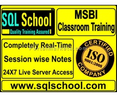 MS BI Complete Practical RealTime classroom Training @ SQL School