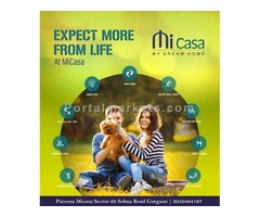 2 BHK @ 58.38 Lacs - Pareena Micasa Sector 68 Gurgaon | 9250404167
