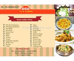 Brahmin wedding caterers in Bangalore Call: 9449103225  www.sgrcatering.in