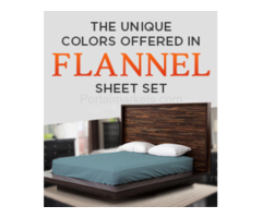 Buy 100% Cotton Flannel Sheet Sets at Lowest Prices