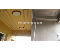 Pulley Cloth Hanger Call: 9845402742 / 9945246382 www.saniyasystems.com