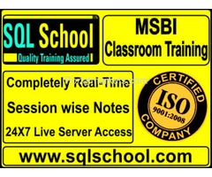 SQL BI (SSIS, SSAS, SSRS) Complete Practical Real time Classroom Training at SQL School