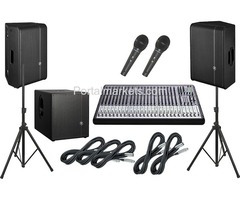 Sound System Tenders, Tenders By Sound System
