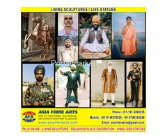 Living Statues Sculpture manufacturers exporters in india punjab ludhiana