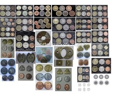 Fantasy Coins for Board Games