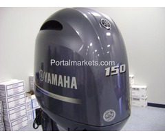 """YAMAHA OUTBOARD F150LB  4 STROKE 20"""" SHAFT WITH JUST UNDER 5 HOURS"""