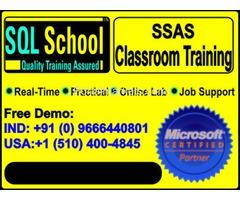 MSBI (SSAS) Complete Practical Real Time Classroom Training @ SQL School