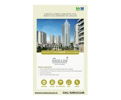 3 BHK Apartment in Gurgaon - M3M Merlin | 9289221168
