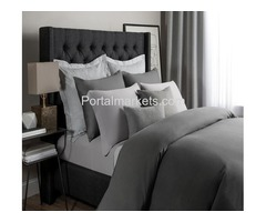 Buy Modal Jersey Sheet Set In Gray Color
