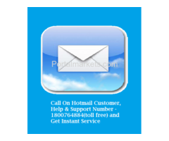 Hotmail Customer Services Number