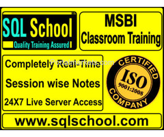 Business Intelligence Excellent Real Time Classroom Training at SQL School