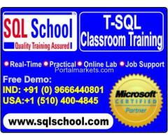 Microsoft T-SQL Practical Classroom Trainings