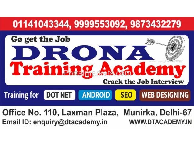 Best Dot Net Training Institutes In Delhi - 1/1