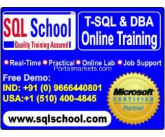 Real Time Online Training On Microsoft SQL Server DBA @ SQL School Training Institute