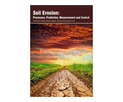 Soil Erosion: Processes, Prediction, Measurement and Control