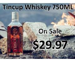Tincup Whiskey 750ML