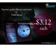 Get orginal  Blu-ray replication and Blu-ray duplication Services from Disk Faktory.