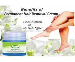 Natural Herbal Permanent Hair Removal Cream