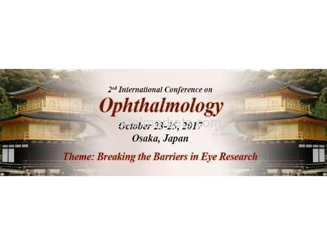 2nd International Conference on Ophthalmology - 1/1