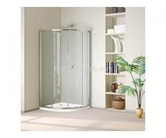 Custom, Sliding, Frameless Glass Shower Doors, Enclosures