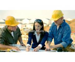 Engineering, Contractors and Construction required