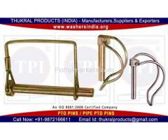 Lynch pins PTO pins Linch Pins manufactuers in India Punjab