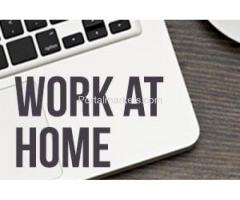 Put your computer to work. Become a Home Typist (4963)