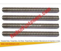High Tensile Coil Rods Exporters in India