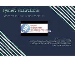 sysnet software solution in singapore