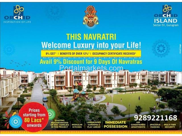 Orchid Island Ready to move Apartments Sector 51 Gurgaon - 1/3