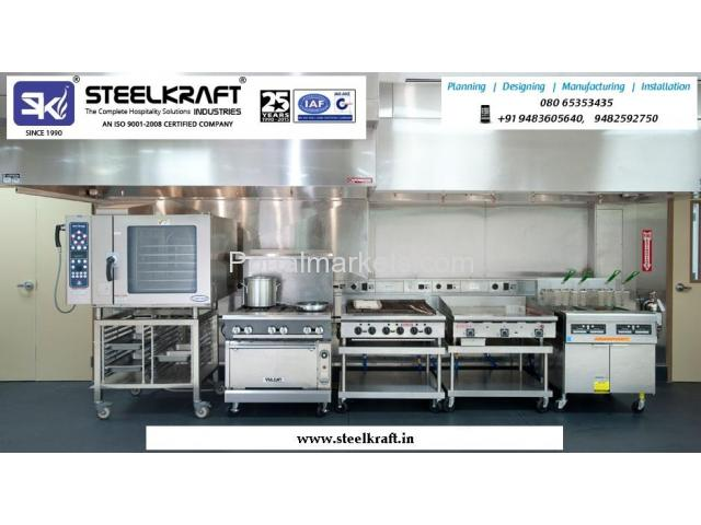 Kitchen Furniture Manufactures in Bangalore Call: +919448243848, www.steelkraft.in - 1/1