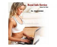 Royal Info Service Offered Home Based Opportunities Data entry job