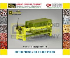 Oil Filter Press Manufacturers Exporters in India Punjab